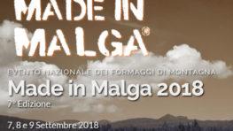 MADE IN MALGA 2018 - ASIAGO