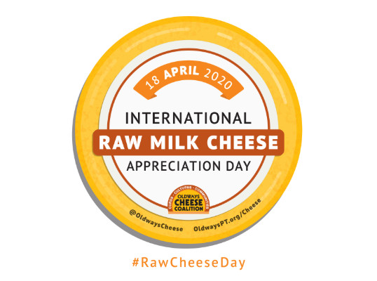 Raw Milk Cheese Appreciation Day 2020 - sabato 17 ottobre